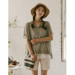 GOROKE - Short-Sleeve Summer Knit Top