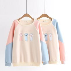 Cat Planet - Paw Print Pullover