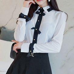 Yilda - 双色调衬衫