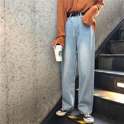 JStyle(ジェイスタイル) - Wide Leg Jeans