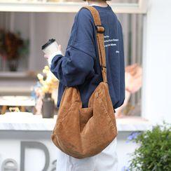 Loveloads - Corduroy Crossbody Bag