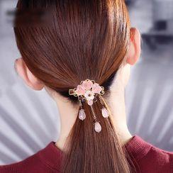 Gangnam - Gemstone Floral Hair Clip