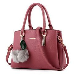 Santaka - Faux Leather Handbag