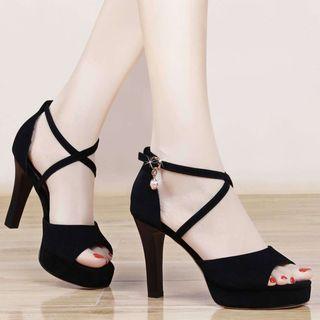 YIVIS - Chunky Heel Sandals