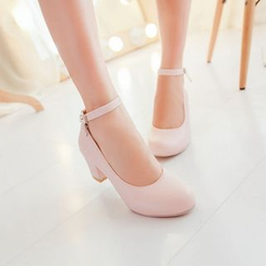 佳美 - 踝帶高跟鞋