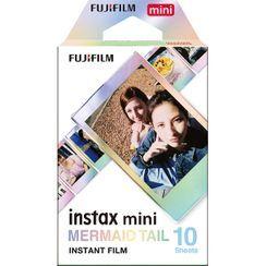 Fujifilm - Fujifilm Instax Mini Film (MERMAID TAIL) (10 Sheets per Pack)