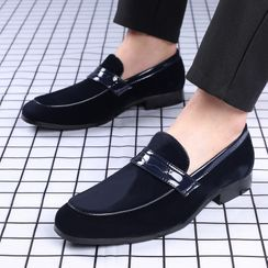 Taragan - Block Heel Loafers