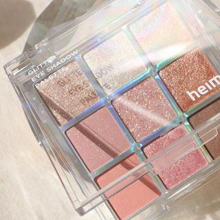 heimish - Glitter Eye Shadow Palette Coral Berry