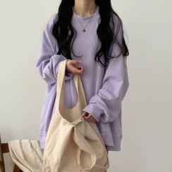 Fairy Essential - Oversized Plain Sweatshirt