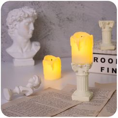 Momoi - Candle Night Lamp / Roman Column Stand