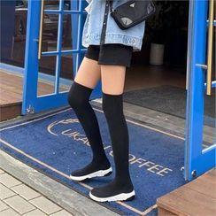 MONOBARBI - Thigh-High Sock Boots