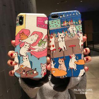 Huella - 猫咪手机壳For iPhone 6 / 6S / 6 Plus / 7 / 7 Plus / 8 / 8 Plus / X / XS / XR / XS Max