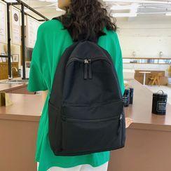 Evanki - Pocket Detail Lightweight Backpack