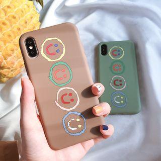 Arancia - Colorful Emoji Phone Case - iPhone 6 / 6S / 6plus / 6splus / 7 / 8 / 7plus / 8plus / X / XS / XR / XS MAX