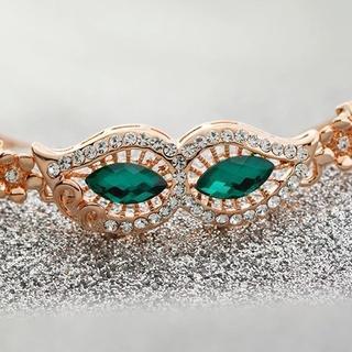 Trend Cool - Jeweled Party Eye Mask Bracelet