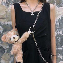 Porstina - Chain Strap Bear Crossbody Bag