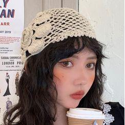 POWOW - Lace Bonnet Hat