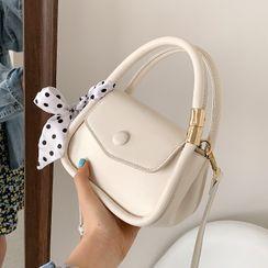 Nautilus Bags - Top Handle Plain Crossbody Bag