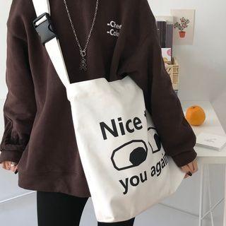 Geolte - Cartoon Print Crossbody Bag