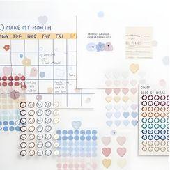 Monez - Stickers Set (Various Designs)