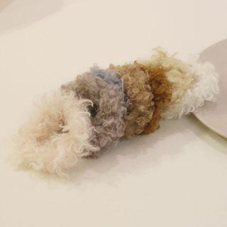 Cheveux - Shearling Scrunchie