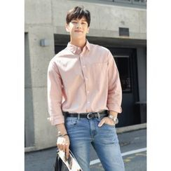 GERIO - Colored Loose-Fit Shirt