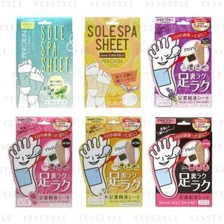 Sosu - Perorin Sole Spa Sheet 6 pairs - 5 Types