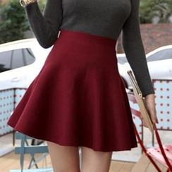 Mikiko - 高腰 A 字裙子