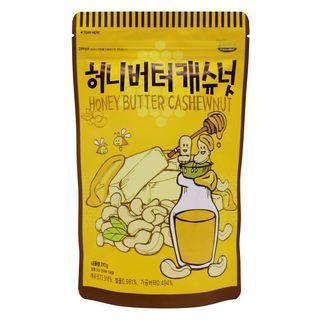Tom's Farm - Dry Roasted Honey Butter Cashew Nut 210g