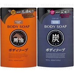 Cosme Station - Kumano Deve Body Soap Refill 400ml - 2 Types