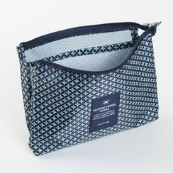 LIONA - Print Travel Toiletry Pouch