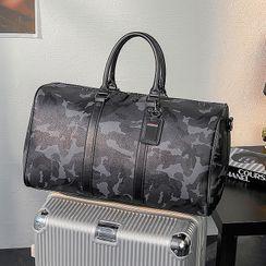BagBuzz - 迷彩仿皮手提包