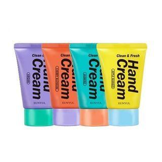 EUNYUL - Clean & Fresh Hand Cream - 4 Types
