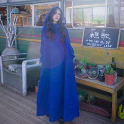 OOMOKU - Hooded Long Cape
