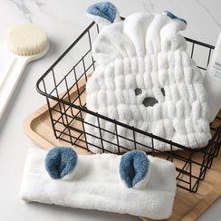 Home Flora - Coral Fleece Hair Drying Towel