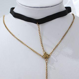 Ignar - Alloy Coin Layered Thigh Chain