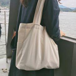 Minafox - Plain Canvas Tote Bag