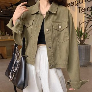 Shopherd - Denim Cropped Jacket