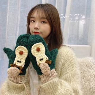 Raconteur - 圣诞鹿针织手套