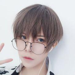Aynu - 男士假发 - 直筒