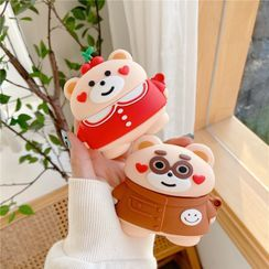 Capritz - Bear AirPods / AirPods Pro Earphone Case Cover