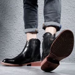 Goldtrench Shoes(ゴールドトレンチシューズ) - Hidden-Wedge Ankle Boots