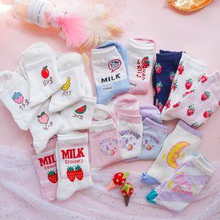 Nikiki - 印花袜子 (多款设计)
