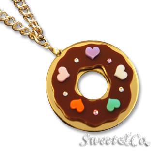 Sweet & Co. - Kandy X Sweet&Co. Minit Swarovski Donut Necklace