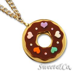 Sweet & Co. - Kandy x Sweet&Co.迷你Swarovski甜甜圈項鏈