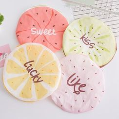 Showroom - Kids Lettering Fruit Print Shower Cap
