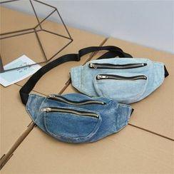 OUCHA - Denim Belt Bag