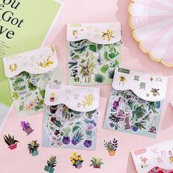 Dukson - 植物印花貼紙 (多款設計)
