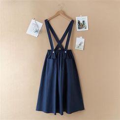 Sulis - Strap Midi Skirt