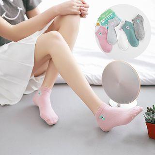 YiFFi - Cat Print Low Socks